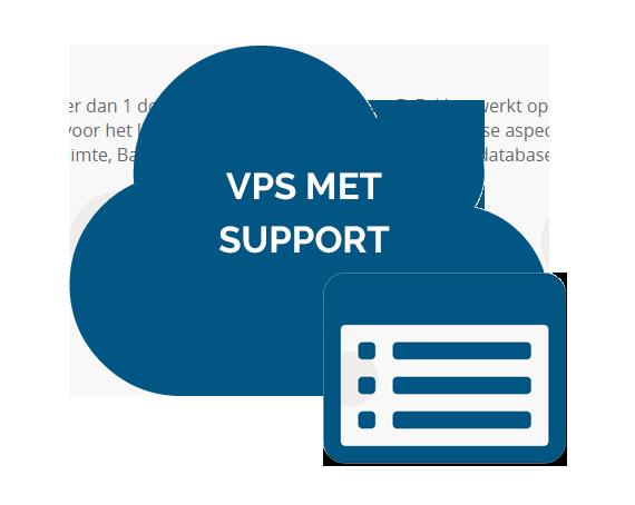 VPS met support